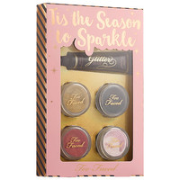 Tis The Season To Sparkle Glitter Set - Too Faced | Sephora