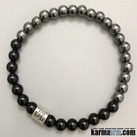 Zodiac | Horoscope | Astrology Collection | Black Onyx | Hematite Bracelet