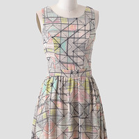 Art Gala Printed Dress