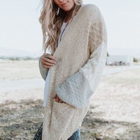 Runaway Oversized Cardigan Sweater