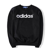 Adidas Women Fashion Top Sweater Pullover Sweatshirt