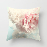 delicate Throw Pillow by Sylvia Cook Photography | Society6