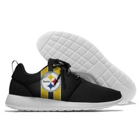 Sport Shoes confortable Jogging Steelers 2018 Walking Athletic Shoes light weight from Pittsburgh style