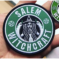 Salem Witchcraft Iron-On Patch