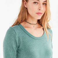 Truly Madly Deeply Camden Long-Sleeve Shirttail Tee - Urban Outfitters