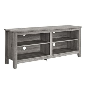 "58"" Driftwood TV Stand Console"