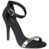 Target : Women's Xhilaration® Susy Strappy Heel - Black : Image Zoom