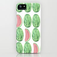 Watermelon iPhone & iPod Case by Alexis Gonopolsky | Society6