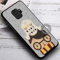 Cute Kid and His Owl Harry Potter iPhone X 8 7 Plus 6s Cases Samsung Galaxy S9 S8 Plus S7 edge NOTE 8 Covers #SamsungS9 #iphoneX