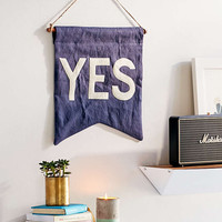 UO X Secret Holiday & Co. Yes Banner - Urban Outfitters