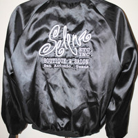 90's Selena Etc. Inc. Boutique & Salon San Antonio Texas RARE Vintage Latin Pop Princess Selena Quintanilla Perez Shop Promo Nylon Jacket