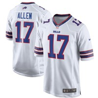 Men's Buffalo Bills Josh Allen Nike White Game Jersey