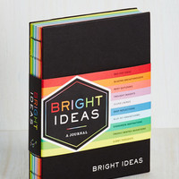 Colorblocking Bright Ideas Journal by Chronicle Books from ModCloth