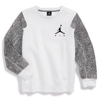 Boy's Jordan Fleece Crewneck Sweatshirt,