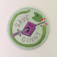 Save Ginny Iron-On Patch