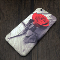 3D Rose Printed Hardcase For Iphone