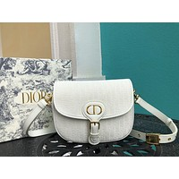 Dior Women Leather Shoulder Bags Satchel Tote Bag Handbag Shopping Leather Tote Crossbody