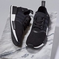"""Women """"Adidas"""" NMD Boost Casual nmd Sports Shoes Black"""