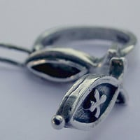 Vintage Silver ring. Secret compartment . Eva's Collections
