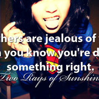 jealous, you, know, right, girl - inspiring picture on Favim.com