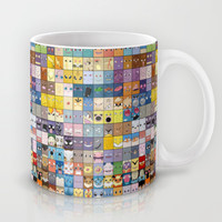 The Pokemon First Generation Mug by Jorden Tually Art