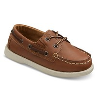 Toddler Boy's Cherokee® Doug Boat Shoes - Brown