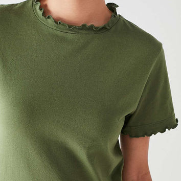 UO Sukie Lettuce Edge Tee | Urban Outfitters
