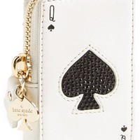 Women's kate spade 'place your bets' card coin purse