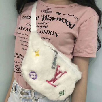 Louis Vuitton LV Fur Shoulder Bag Sling Bag