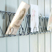 Decorative Country Living ~ Wire card holders