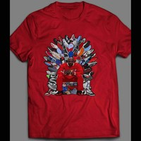 "MICHAEL JORDAN ""THRONE OF SNEAKERS"" ART T-SHIRT"