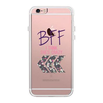 I Think She Is Crazy Phone Case Cute Clear Phonecase