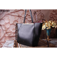 CELINE WOMEN'S 2018 HOT STYLE LEATHER CLASP TOTE BAG HANDBAG