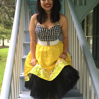 Darling Daisy Rockabilly Swing Dress