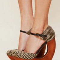 Jeffrey Campbell Rockaway Cutout Wedge at Free People Clothing Boutique