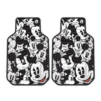Disney Mickey Mouse Expressions Front Floor Mats