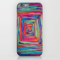 Colorful Yarns - for iphone iPhone & iPod Case by Simone Morana Cyla