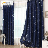 DIHIN 1 Panel star blackout curtains for bedroom living room curtain kid's room curtain la cortina del apagon cortina para sala