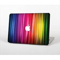 """The Straight Abstract Vector Color-Strands Skin Set for the Apple MacBook Air 13"""""""