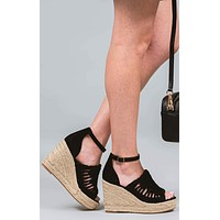 Juti Not Rated Espadrille Wedges