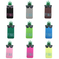 Pink Pineapple Phone Case (iPhone)