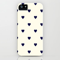Cute Hearts iPhone Case iPhone & iPod Case by PinkBerryPatterns
