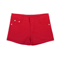 New 2017 Summer Pencil Red Shorts