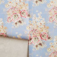 Azure Bouquet Wallpaper by Anthropologie in Light Blue Size: One Size Decor