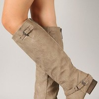Outlaw Boot in beige