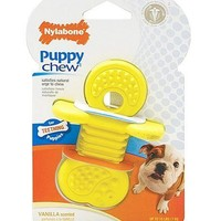 Nylabone Puppy Chew Teething Teether Rubber Toy Sz: Sm