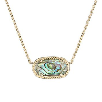 Elisa Pendant Necklace in Abalone Shell - Kendra Scott Jewelry