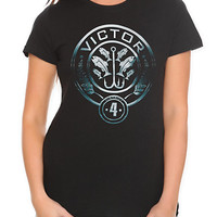 The Hunger Games: Catching Fire District 4 Seal Girls T-Shirt