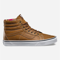 Vans Vans Leather Sk8-Hi Reissue Shoes Brown  In Sizes