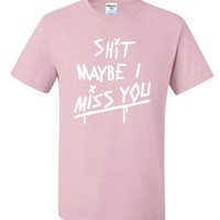 "Louis Tomlinson ""Shit Maybe I Miss You"" T-Shirt"
